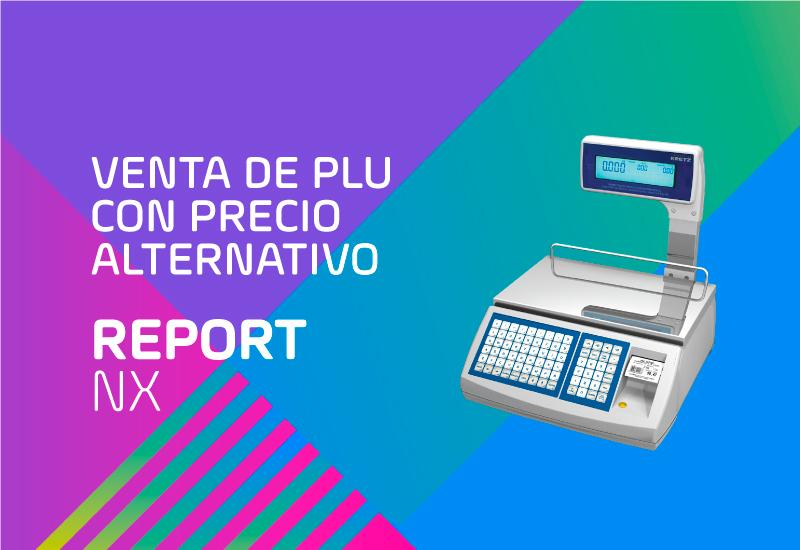 Report NX LCD - PLU con precio alternativo